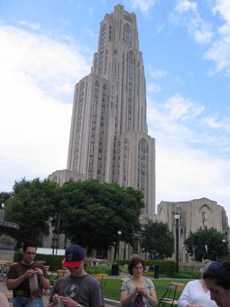 Піттсбург - Всесвітній День В'язання на Публіці 2011